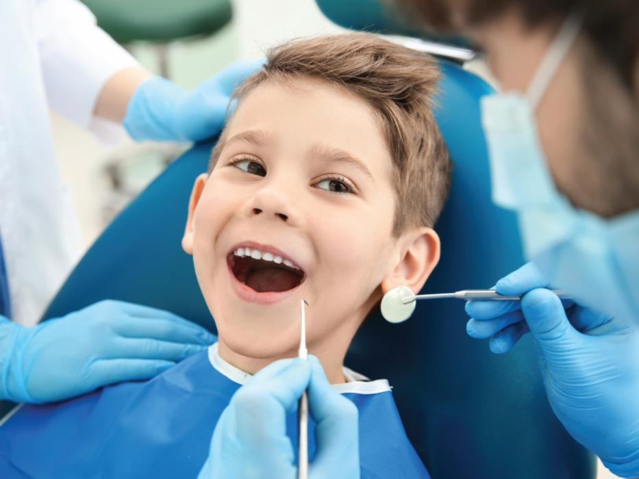 kid at dentist | madera ca dentist