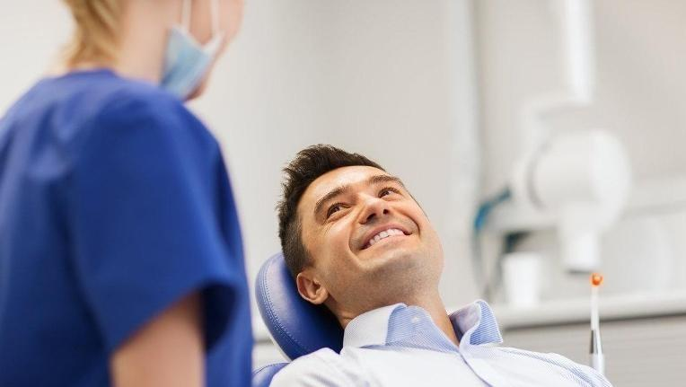 Dental Cleaning Patient | Keledjian Dental 93637