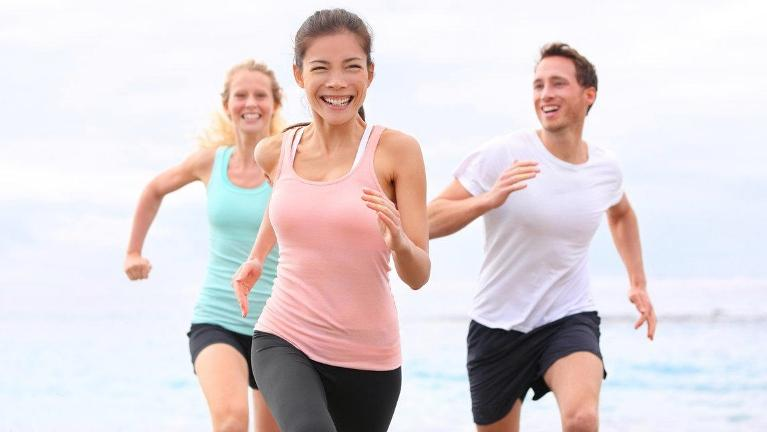 Active People Walking Outside | Madera CA Dentist