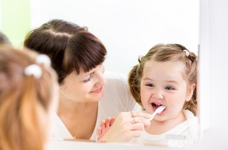 Child Brushing Teeth | Madera CA Dentist